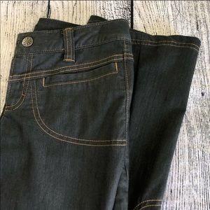Athleta, Dry Dipper Cargo Jean, 0, black, EUC